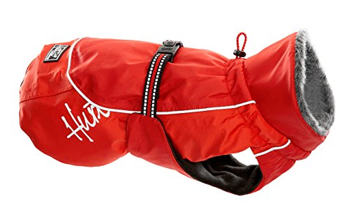Hurtta Pet Collection 12-Inch Winter Jacket, Red by Hurtta