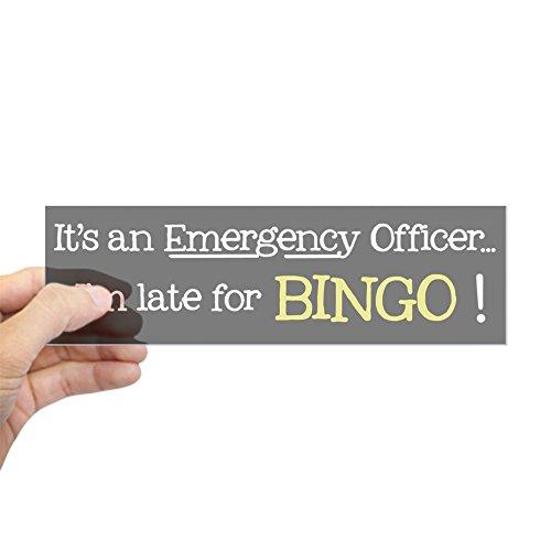 CafePress Bingo Emergency - Bumper Sticker 10