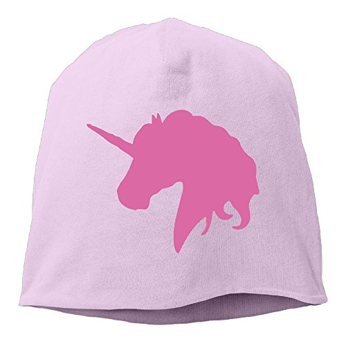 cyg5fw600r Christmas Gift ! Personalized Kids Pink Unicorn Polo Horse Unisex Cotton Hedging Hats Beanies Caps Sleep Cap for Women ()