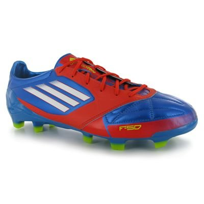 Adidas F50 adizero TRX FG Leather Blue G45575 prime blue/core energy/white