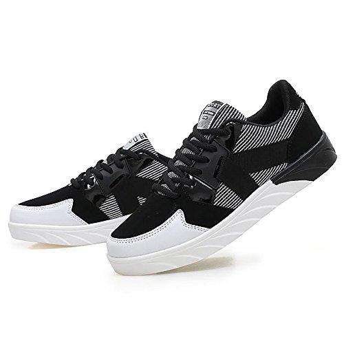 Shufang shoes Mocassini Uomo Orange Black a4rwaq1