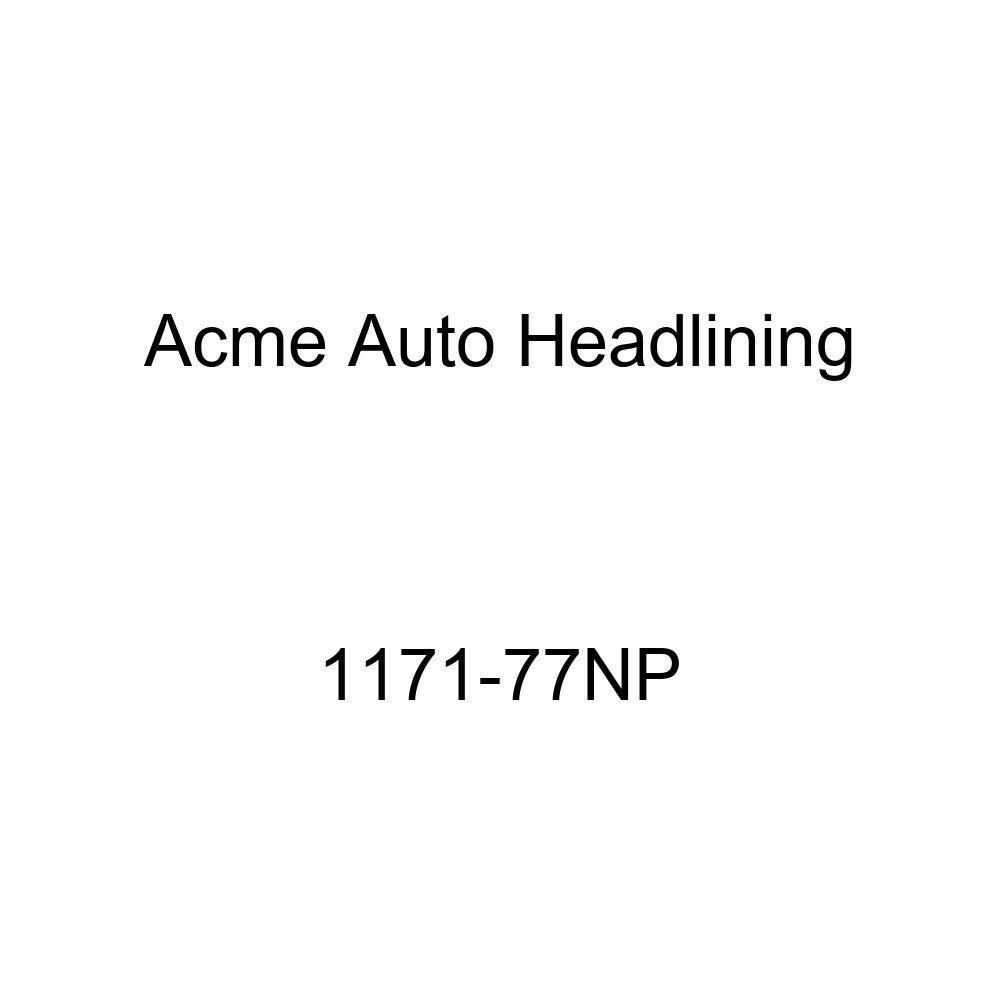 1957 Buick Special 2 Door Sedan 8 Bows Acme Auto Headlining 1171-77NP Ginger Replacement Headliner