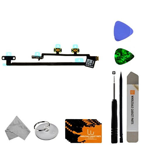 Flex Cable (Power & Volume) for Apple iPad Mini, iPad Air with Tool Kit by Wholesale Gadget Parts (Image #2)