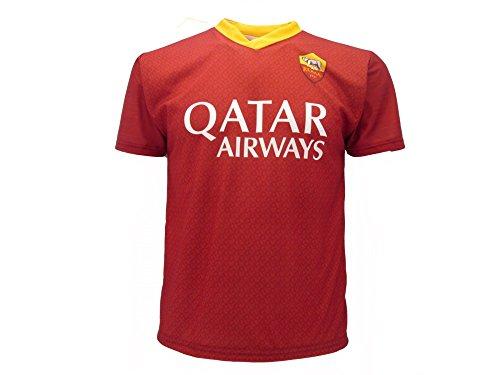 Camiseta réplica de fútbol Home Roja, oficial, autorizada, nombre, número personalizado AS Roma 2020 Totti Dzeko Pedro…