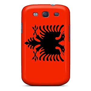 Premium Durable Albania Flag Fashion Tpu Galaxy S3 Protective Cases Covers
