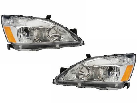 03 honda accord coupe headlights - 2