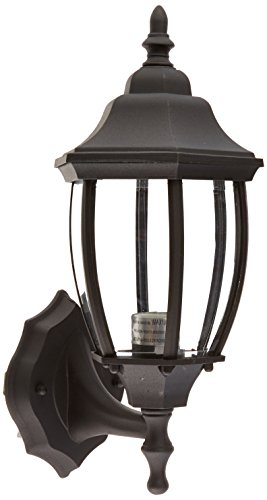 Designers Fountain 2420-BK Riviera Wall Lanterns, Black Tiverton 1 Light Cast
