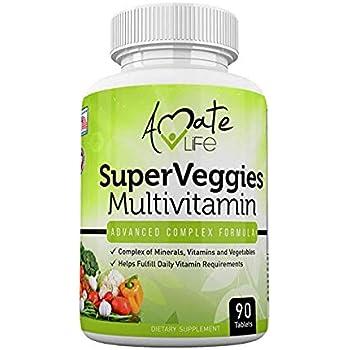 Amazon.com: Amate Life Super Veggies Multivitamin ...