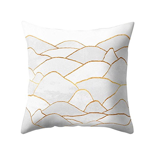 iYBUIA Special Design Geometric Design Cushion Square Throw Pillow Cover Case Pillowslip]()