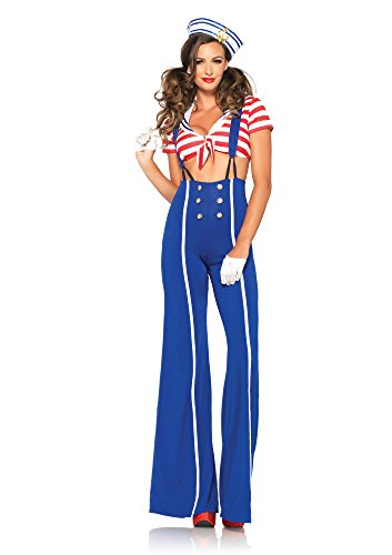 Leg Avenue Women's Ship Shape Sailor Costume -
