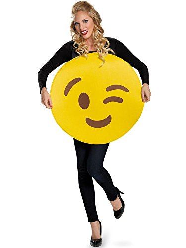 Devil In Disguise Halloween Costume (Disguise Men's Wink Costume, Yellow, One)