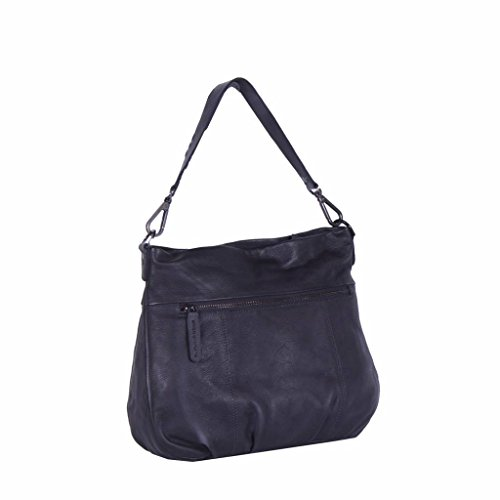 Borsa a 34 cm The spalla Brand pelle Anthracite Wendy Chesterfield gIaFR