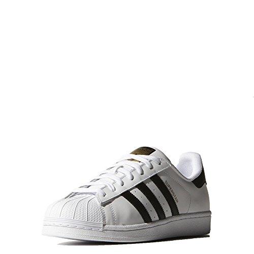 adidas Originals Herren Superstar Fashion Sneaker Ftwht, cblack, goldmt