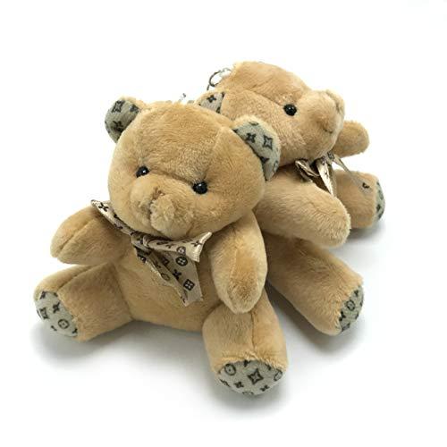 Trusted Buddy Set of 2 Cute Mini Brown Teddy Bears