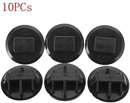 NO LOGO ZWQ-Spring 10pcs Neue Schwarze Nylon Side Rock Molding Clips BP4L-51-SJ3 for Mazda 3 5 6 CX-7 CX-9 RX-8