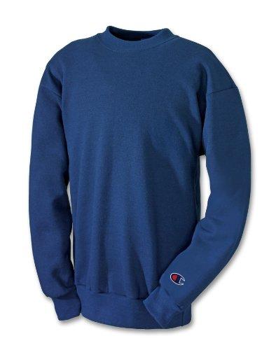 Champion Boys Big Boys' Powerblend Eco Fleece Sweatshirt, Navy, XL