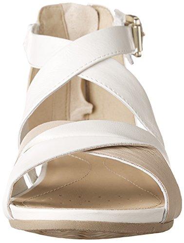 Blanc Formosa Geox Cass Sandales Marche De Femme A 44fxrY