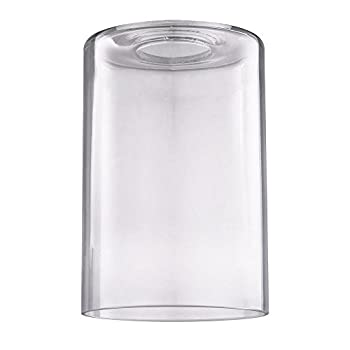 Clear Cylindrical Glass Shade