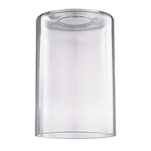 Clear Glass Shade (Clear Cylindrical Glass Shade)