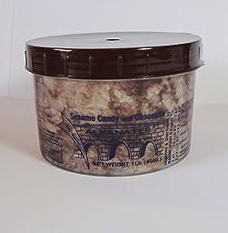 Alkanater Halva with Cacao 1lb, Product of Lebanon