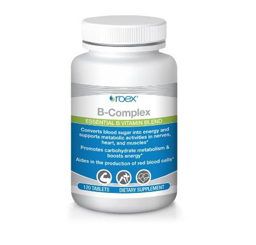 Roex B-Complex Capsules, 120 Count