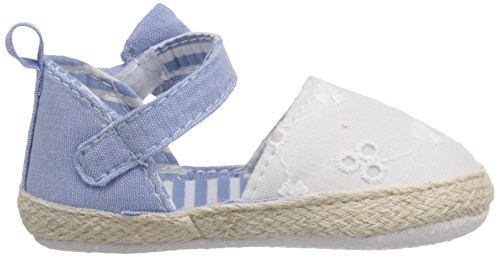 Pictures of Luvable Friends Girl's Bow Espadrille Sandal 4 M US Toddler 3