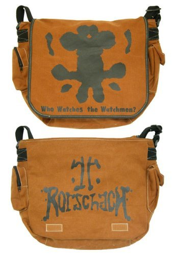[해외]NECA Watchmen Movie Rorschach 메신저 백/NECA Watchmen Movie Rorschach Messenger Bag
