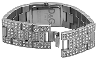 D&G Dolce&Gabbana Damen-Armbanduhr C'EST CHIC SILVER DIAL 3719251024