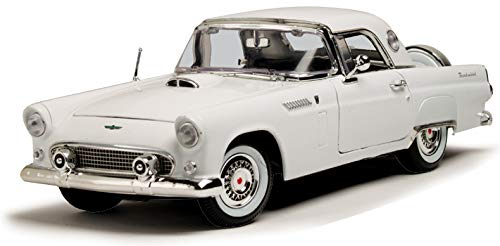 Ford 1956 Thunderbird White Timeless Classics 1/18 by Motormax -