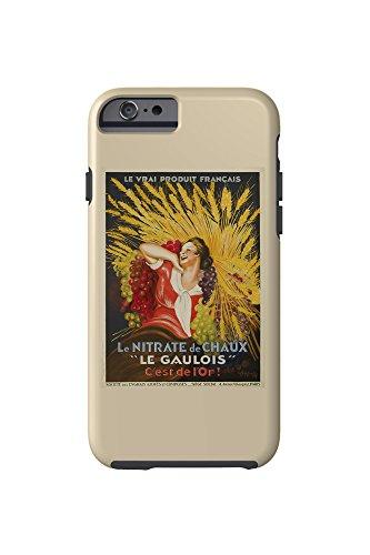le-gaulois-vintage-poster-artist-cappiello-leonetto-france-c-1927-iphone-6-cell-phone-case-tough