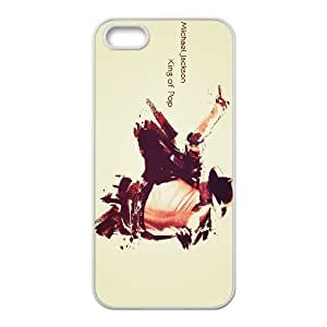 Singer Michael Jackson-king of pop- protective case cover For Apple Iphone 5 5S Cases QV479686043