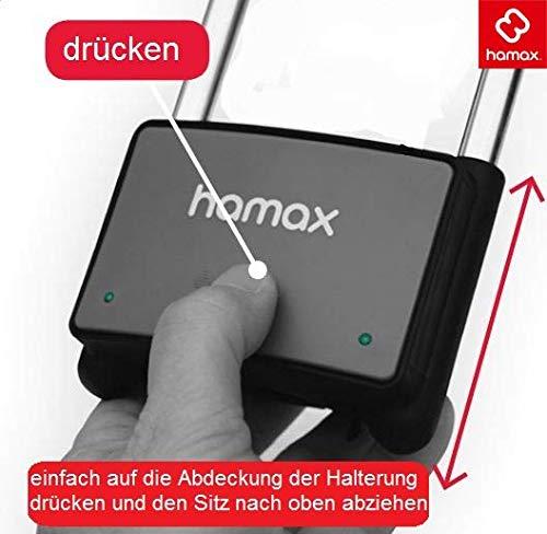 tama/ño N//a Silla de Bicicletas para ni/ños Color Non Applicable Hamax Halterung