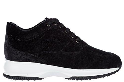 Hogan Chaussures Sneakers Femme Nouveau Original Interactif Noir