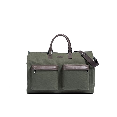 Hook & Albert Garment Weekender Bag (Olive) by HOOK & ALBERT (Image #5)