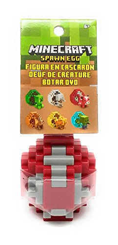 Minecraft Spawn Egg Mini Action Figure - Mooshroom (Spawn Mini Figures)