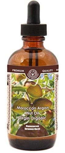 Moroccan Argan Nut Oil - Virgin Organic 4 Fl Oz/120 Ml