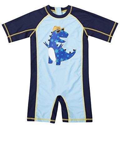 Rash Guard Baby Boys Bathing Suits Toddlers Swimwear one Piece Sun ()