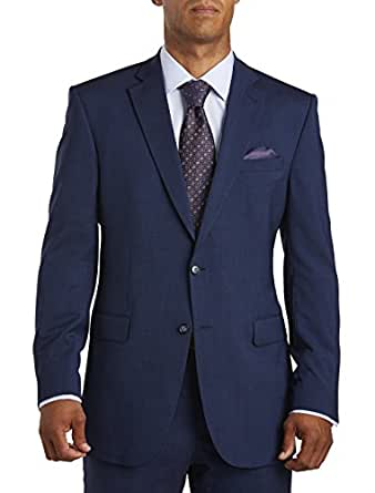jack victor big and tall reflex solid suit jacket