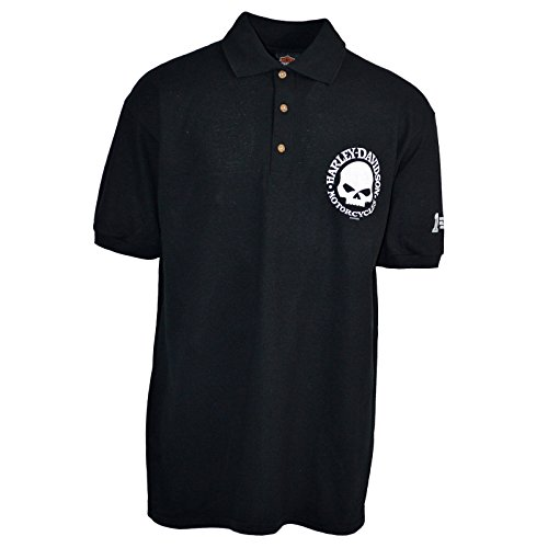 Harley Davidson Mens Polo Shirt Overseas