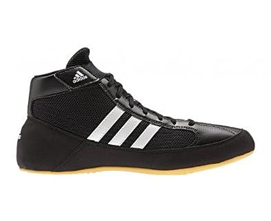 save off 6315e c5497 adidas , Chaussures de Catch pour Homme - Noir - Noir Blanc, 47 1