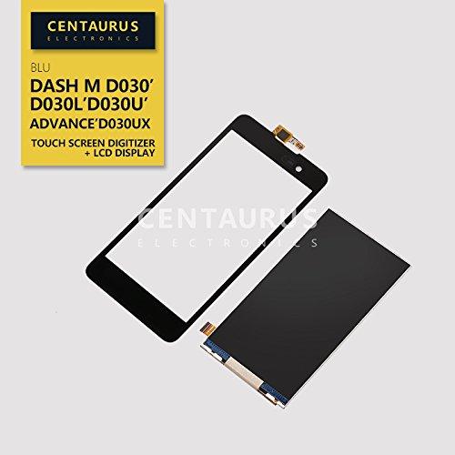 Replacement for BLU Dash M D030 D030L D030U & Advance 5.0 D030UX New Assembly LCD Display + Touch Screen Digitizer (Blu Dash Advance)