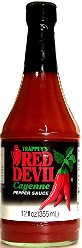 Trappey's Red Devil Sauce Hot 12 fl oz ( 2 pack )