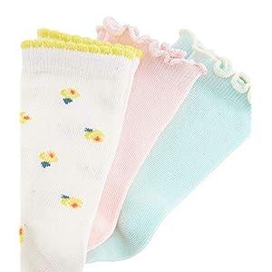 Petit Bateau Girl's Calf Socks