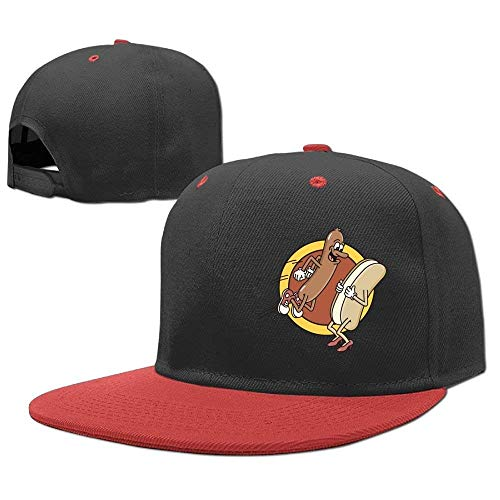 jinhua19 Gorras béisbol Baseball Caps Hip Hop Hats Cute Hot Dog Boy-Girl