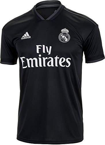 adidas World Cup Soccer Real Madrid Soccer Real Madrid Away Jersey, Small, Tech Onix (Mens Real Madrid Soccer Jersey)
