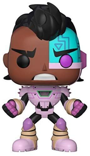 Funko POP TV: Teen Titans GO! The Night Begins to Shine - Cyborg Collectible Figure -