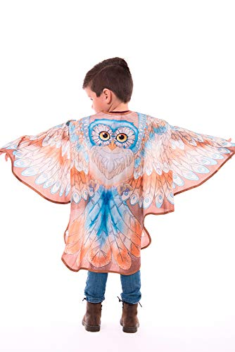 Little Adventures Animal Wing Capes (Owl, Large Age 5-9) -