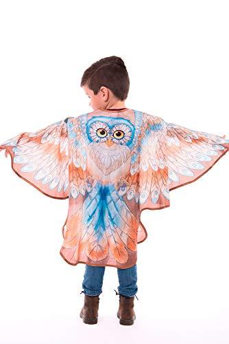 Little Adventures Brown Owl Wings Cape - Size L/XL Age -