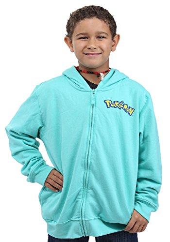 Bulbasaur Costume Ideas (Pokemon Little Boys Bulbasaur Costume Hoodie, Teal, M-5/6)