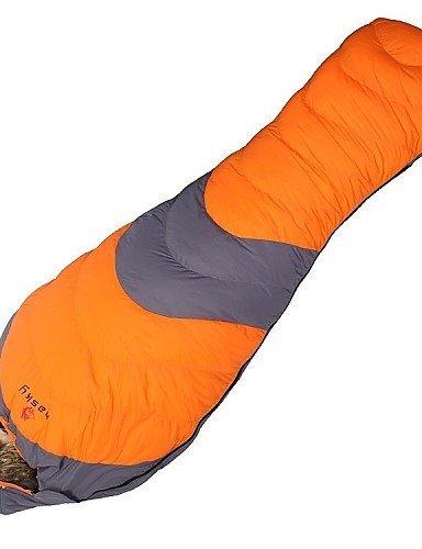 Hewolf super warme 310T wasserdicht 1000gm Duck Down Freien -20 bis -10 C Camping Schlafsack